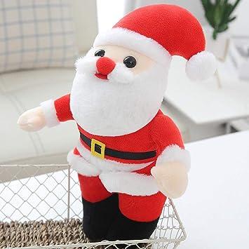 FUYUHAN Muñeca De Peluche De Papá Noel del Día De Navidad, Muñeco De Peluche con Figura De Santa Claus Barbudo De Navidad, Regalo De Visita para Niños, 20 Cm: Amazon.es: Juguetes y