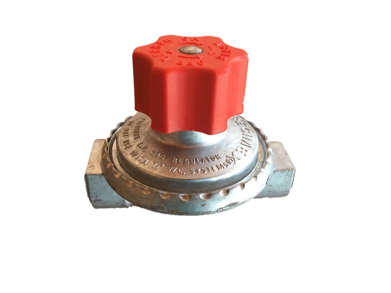 Adjustable 0 to 20psi Propane Regulator LP LPG Gas parts Precimex 7003