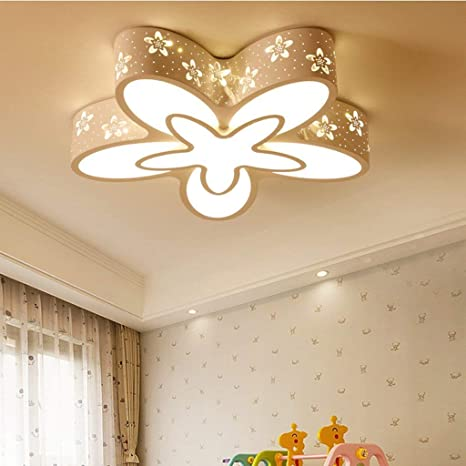 Amazon.com: GX Lámpara de Techo LED Flor Modelado Lámpara de ...