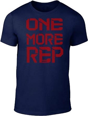 GO HEAVY Camiseta para Fitness Hombres Deporte One More Rep: Amazon.es: Ropa y accesorios