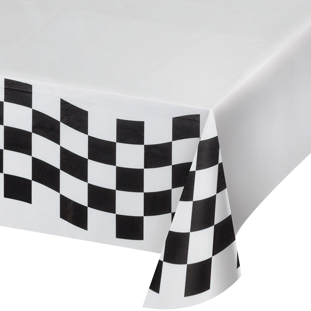 Race Car Party Bundle - Black and White Party Plastic Tablecloth 8 Checkered Round Paper Plates 8 ...  sc 1 st  rcrcshop.top & Race Car Party Bundle - Black and White Party Plastic Tablecloth 8 ...