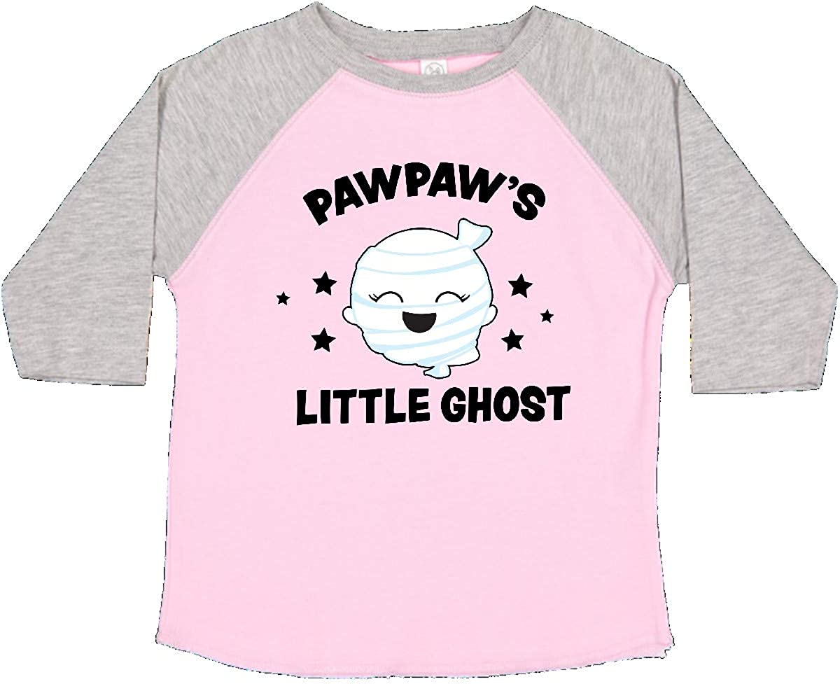 inktastic Cute Pawpaws Little Ghost with Stars Toddler T-Shirt