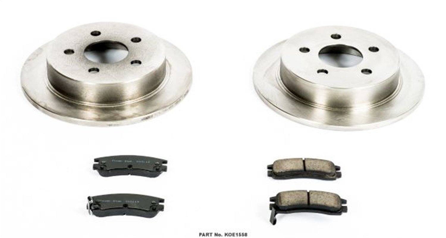 Autospecialty KOE1558 1-Click OE Replacement Brake Kit