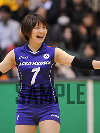 Amazon.co.jp: 滝沢ななえ 2L判写真1枚 女子バレー D5: ホビー