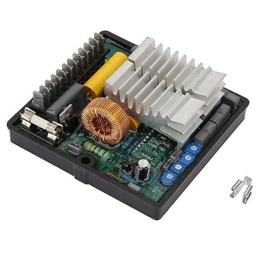 Regulador de voltaje automático Controlador AVR de alta calidad para 50-270AC 50/60HZ SR7-2G Generador sin escobillas