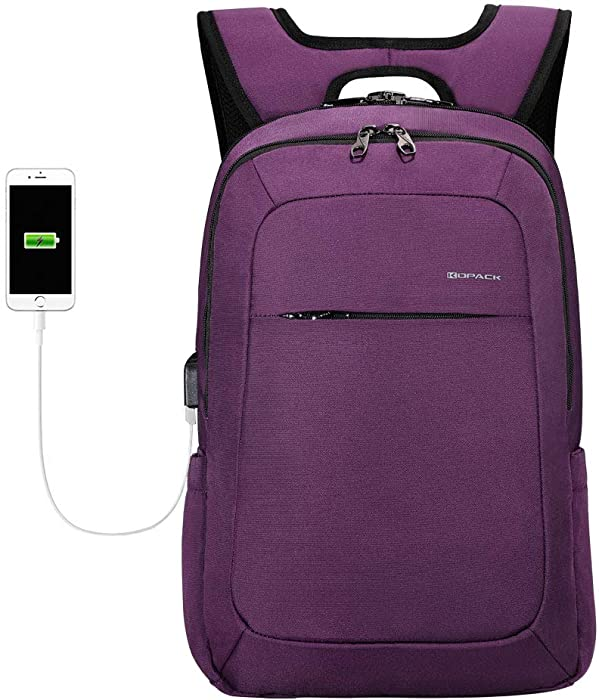The Best Purple Laptop Backpack 156 Inch