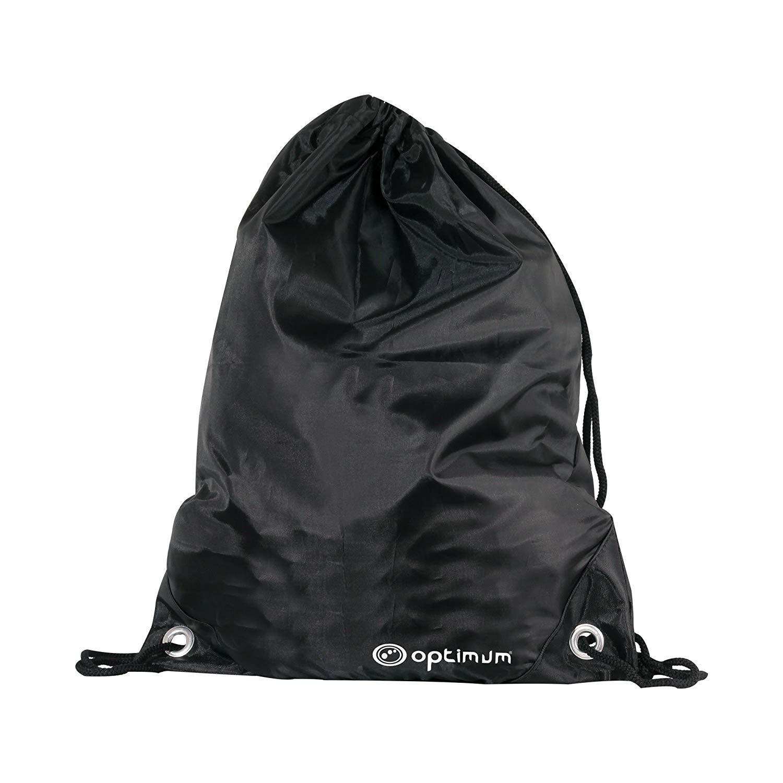 Optimum Men's Drawstring Gym Bag Black/White, One Size