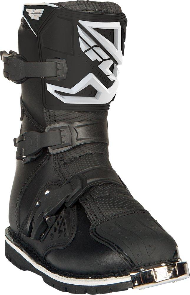 Fly Racing Unisex-Adult Maverick Dual Sport ATV Boots (Black, Size 8)