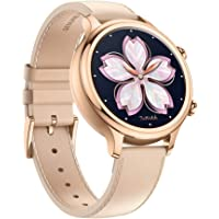 Ticwatch C2 Wear OS Women's Smartwatch with Build-in GPS, NFC Payment, for iOS and Android (Rose Gold)