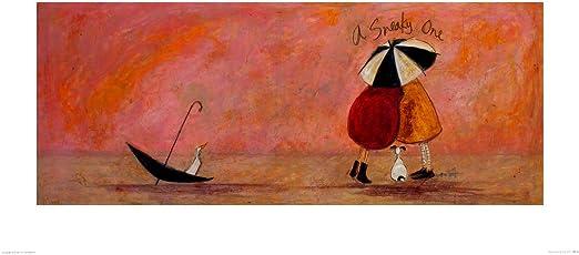 SAM TOFT A SNEAKY ONE II ART PRINT  50 x 100cm