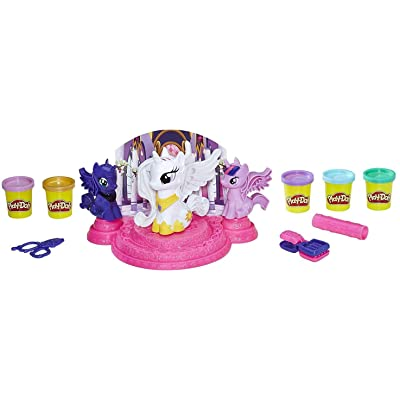 Play-Doh My Little Pony Canterlot Court: Toys & Games