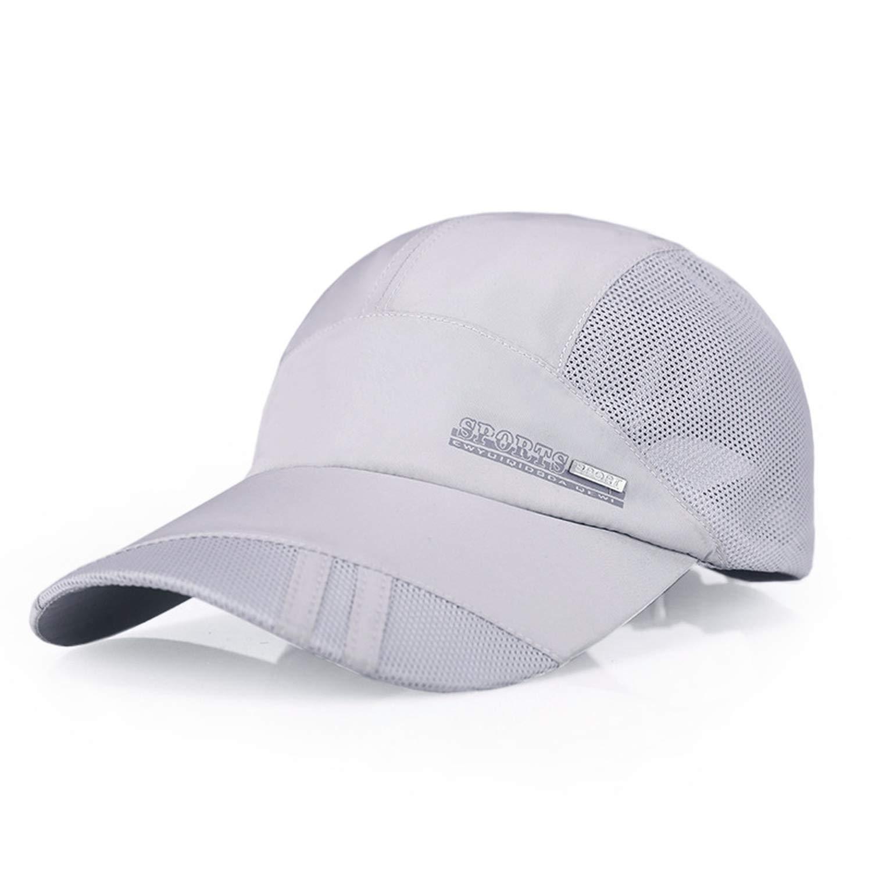 Outdoor Casual Baseball Cap for Men Women Adjustable Sport Running Cap Summer Sun Hat Breathable Thin Mesh Hat