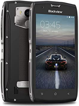 Movil Resistente, Blackview BV7000 Móvil IP68 de 5.0 FHD Pulgadas, Cámaras 8MP+5MP, Batería de 3500mAh, 2GB RAM +16GB ROM Android 7.0 Smartphone, NFC, Dual SIM ...