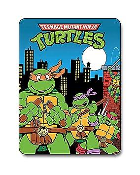 Teenage Mutant Ninja Turtles City Lightweight Fleece Blanket ...