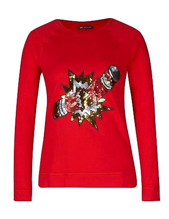 9f973166 Ex M&S Soft Cotton Rich Christmas Sweatshirt Jumper 8-28 (22 ...