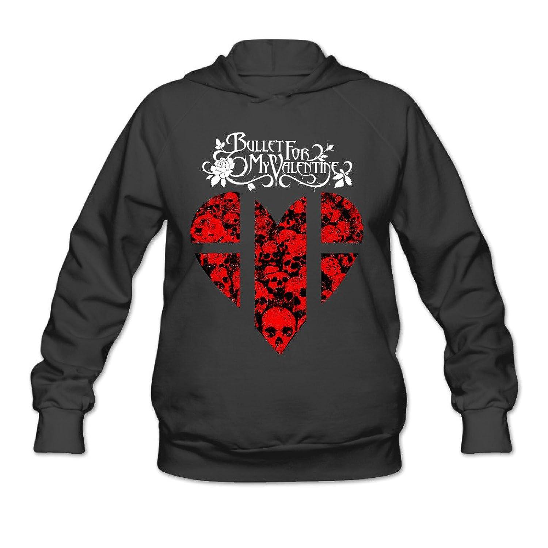 Bullet For My Valentine Skulls Heart Women S Hoodie Good Www