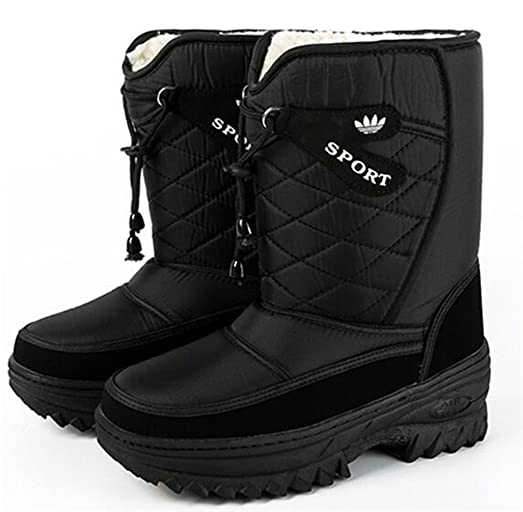 Men's Waterproof Boots Winter Boots Warm Snow Boots Skidproof Boots