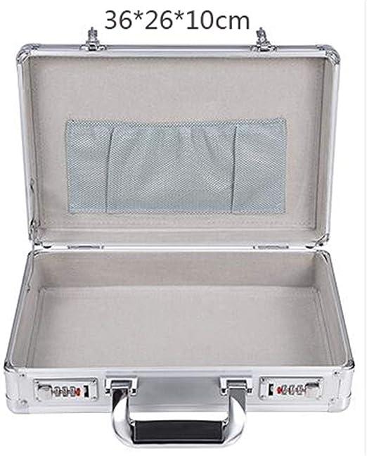 KUANGQIANWEI Caja Herramientas Código de Aluminio Caja de ...