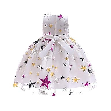Bestow Vestido de Princesa Bordado Estrella de Las Muchachas de ...