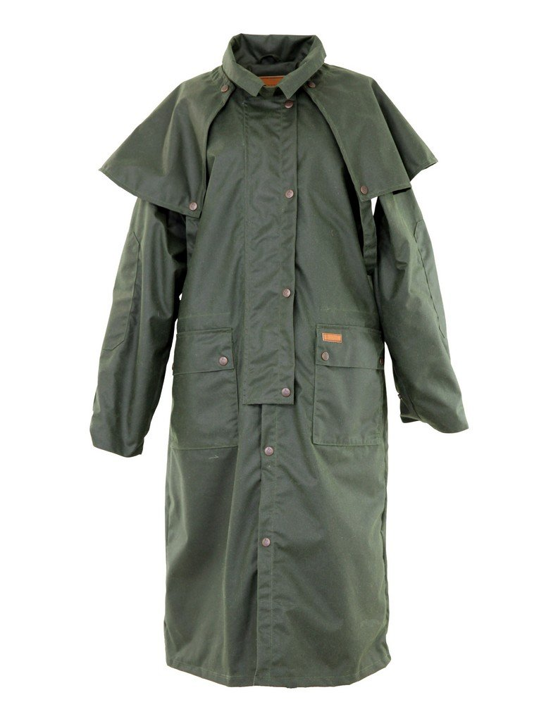 Outback Trading 2042 Men's Low Rider Duster Trenchcoats, Green - XXL