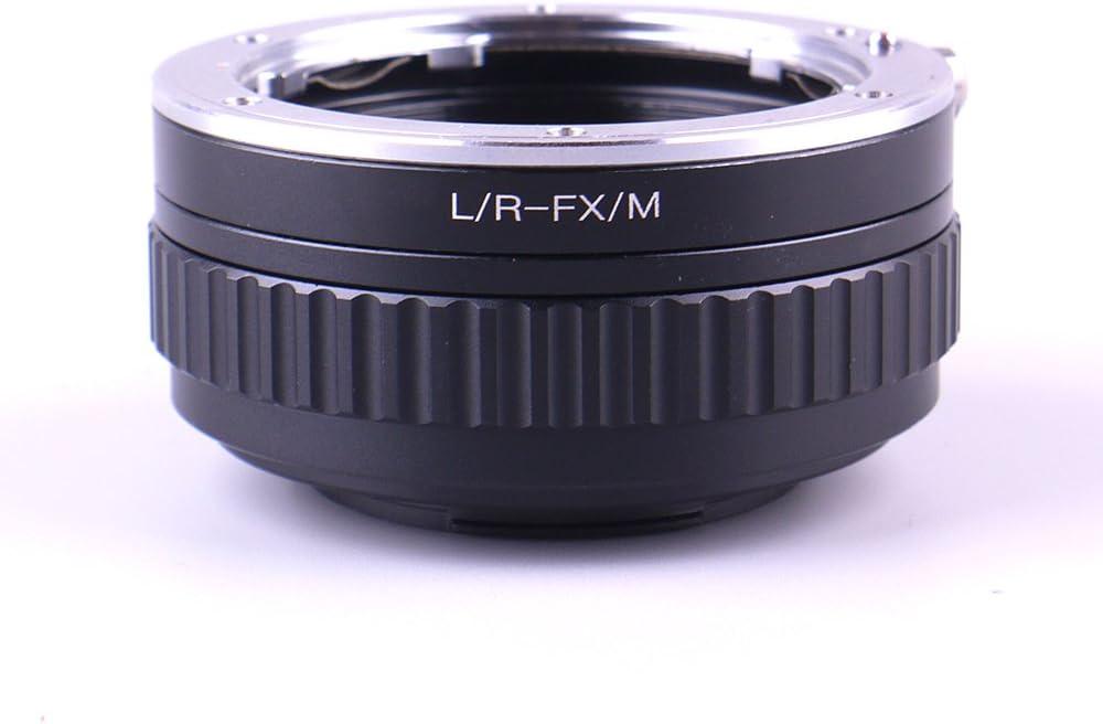 Pixco Adjustable Macro to Infinity Lens Adapter Suit for Leica R to Fujifilm X Camera Fujifilm X-T30 X-T100 X-H1 X-A5 X-E3 X-T20 X-A10 X-A3 X-T2 X-Pro2 X-T1 IR X-T10 X-E2 X-E1 X-A1 X-Pro1