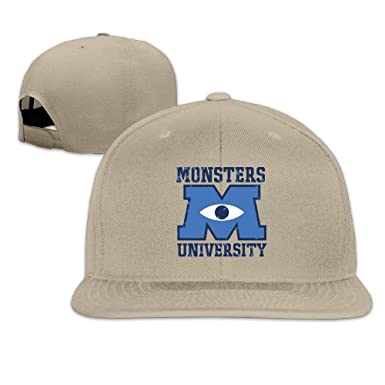 LIU888888 Custom M U Monsters University Logo Adjustable Baseball ...