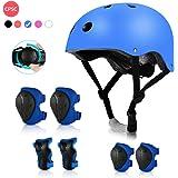Kids Bike Helmet, Toddler's Helmet,MTUBTB Kids Protective Gear and 3-12-Year-Old Boys Girls Adjustable Sports Protection Equi