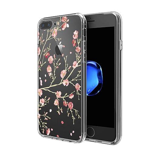 21 opinioni per Custodia iPhone 7 Plus , ivencase Cover iPhone 7 Plus Silicone Trasparente TPU