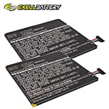 2x Exell Li-Polymer 3.8V Battery Fits ASUS ME173X, MeMO Pad HD7, Tablets Replaces C11P1304