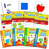 Playskool Flash Cards and Learning Pad Super Set -- 4 Flashcards Packs, 4 Write and Wipe Pads (Alphabet, Numbers, Colors and Shapes, Opposites, First Words)