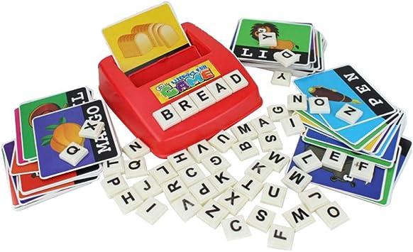 STOBOK Alfabeto Cartas Cartas para deletrear Alfabetización ...
