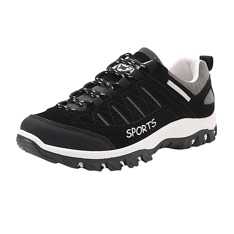 Men Outdoor Sneakers Sports Hiking Casual Athietic Caves Waterproof Anti-Skidding Shoes