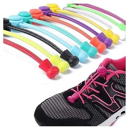 558cabfdf75e Amazon.com  BabyPrice (8 Pairs ) No Tie Elastic Shoelaces That Lock ...