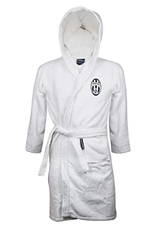 a9d31abc81 Men s Juventus Terry Bathrobe Juventus Football Adult PS 25054 Classic Logo  ...