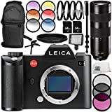 Leica SL (Typ 601) Mirrorless Digital Camera with Leica APO-Vario-Elmarit-SL 90-280mm f/2.8-4 Lens 13PC Accessory Bundle – Includes 3 Piece Filter Kit (UV + CPL + FLD) + MORE