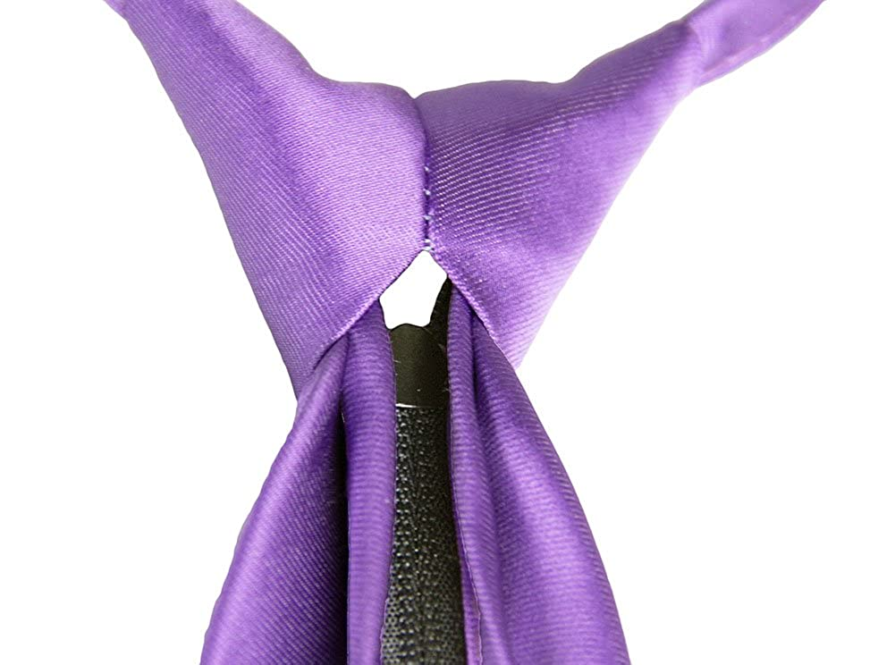 Lavender Kids Tie with Zipper