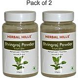 Herbal Hills Bhrungraj Powder - 100 g (Pack of 2)