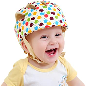 ca5b02266 Infant Baby Toddler Safety Head Protection Helmet - Sport Design - Packed  in Gift Box (Apple)