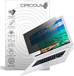 Celicious Privacy Plus 4-Way Anti-Spy Filter Screen Protector Film Compatible with Acer Chromebook 15 (CB5-571)