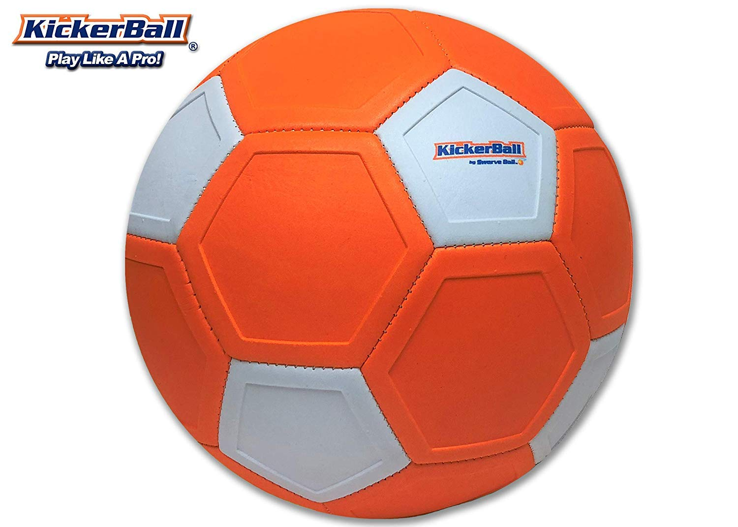 4d921d248 Kickerball by Swerve Ball The Ball that Bends Curves and Swerves Curve Ball  Soccer Ball Curve Football Extreme Bend: Amazon.co.uk: Sports & Outdoors