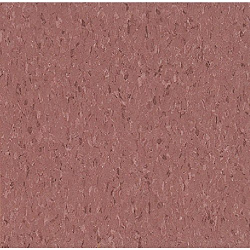 Imperial Texture VCT 12 in. x 12 in. Cayenne Red Standard Excelon Commercial Vinyl Tile (45 sq. ft. / ()