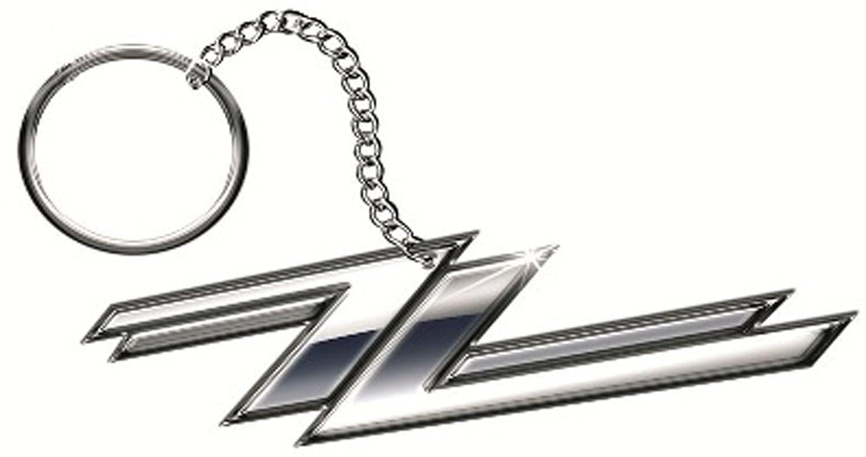 ZZ Top Logo Porte-cl/és Keyring Keychain # 2