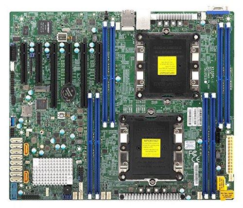 Supermicro Motherboard Ethernet (Supermicro X11DPL-I Server Motherboard - Intel Chipset - Socket P LGA-3647-1 x Retail Pack)