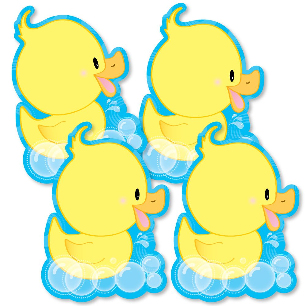 Ducky Duck - Decorations DIY Baby Shower or Birthday Party Essentials - Set of 20