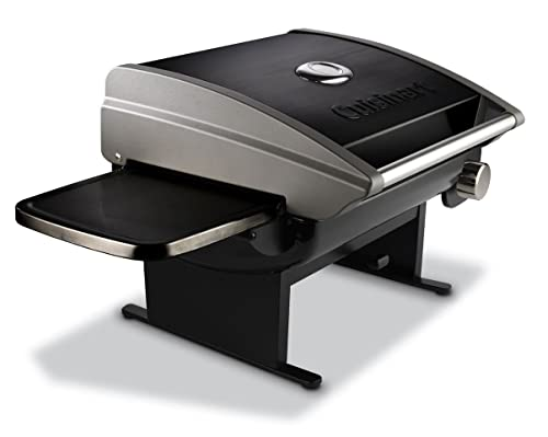 Cuisinart CGG-200B Portable Outdoor Tabletop Propane Gas Grill, 12000 BTU