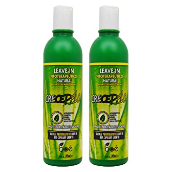 "BOE Crece Pelo Leave-in Natural 12.6oz ""Pack ..."