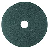 3M Blue Cleaner Pad 5300, 17'' Floor Care Pad (Case of 5)