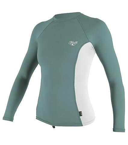 860c69683a Amazon.com  O Neill Women s Premium Skins Upf 50+ Long Sleeve Rash ...