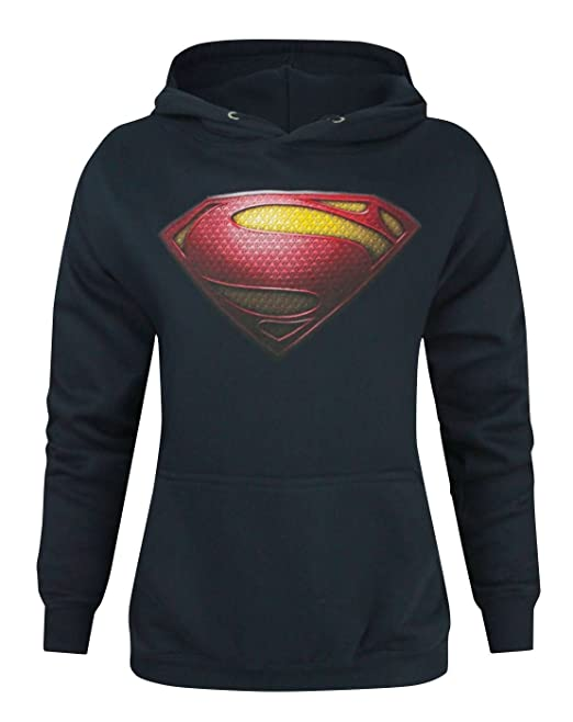 DC Comics Superheroes Womens Hoodies (Superman Batman Wonder Woman Flash)
