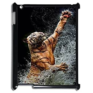Powerful tiger Hard Snap Phone Case Cover For For iPad Case 2,3,4 color11